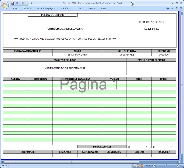Famoso Plantilla De Registro De Cheque Imprimible Imágenes ...